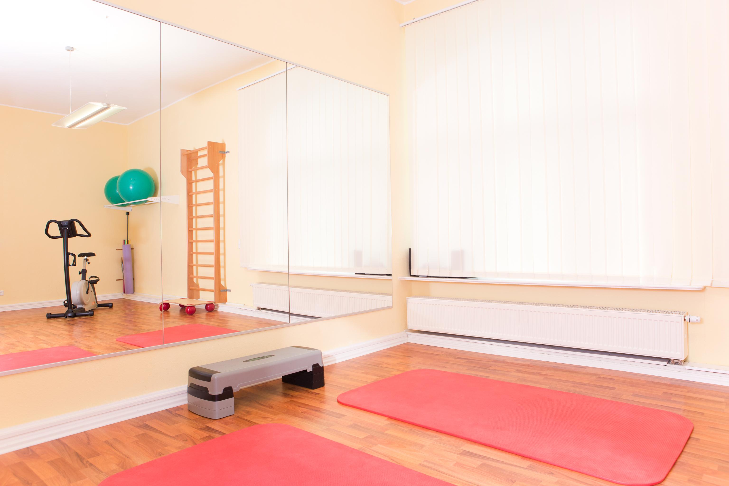 Die Praxisräume der Physiotherapie Praxis in Berlin Charlottenburg direkt am Kurfürstendamm